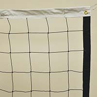 Volleyball Replacement Net with Rope Cable (2.5mm Nylon Mesh) (32'L x 36