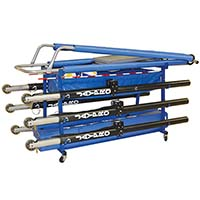 "Vertical Volleyball Equipment Carrier (60""L x 35""W - 6 poles)"