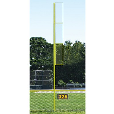 20' Collegiate Foul Pole (Baseball - Semi/Perm - Yellow)