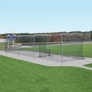Batting Tunnel Frame - Single (70') - Mounted (Outdoor)