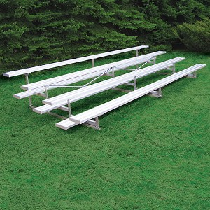 Standard Outdoor Bleacher (27' - 4 Row)