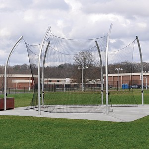 Discus Cage (with Net - No Ground Sleeves)