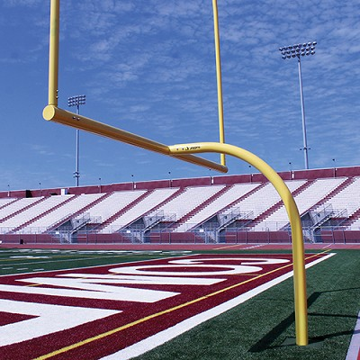 MAX-1™ Football Goal Post (Leveling Plate - 6'Ox30'U - High School)