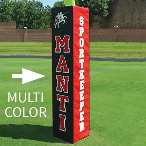 Rugby Pole Padding Custom Graphics