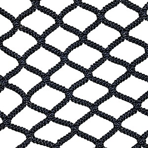 NETX1™ Seamless One-Piece Lacrosse Net (Box, Black)