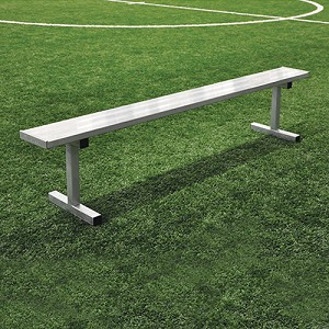 Player Bench (15' w/o Seat Back - In-Ground Installation)