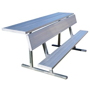 Player Bench with Shelf (21')