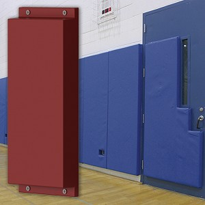 "Wall Padding - WallGuard™ Impact Rated (2' x 6') (1"" Lip Top & Bottom)"