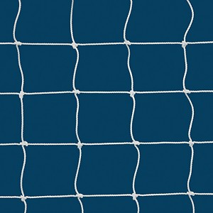 "Replacement Net (4"" Sq. Mesh) - Soccer Training Goal - Large Portable Training Goal (8'H x 24'W) (White)"