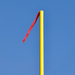 Wind Streamers - Football Goal Upright (Red) (Set of 4)